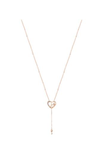 GOLDHEART GOLDHEART Necklace, Diamond Rose Gold 750 (TPH0779) 4387DACD92DDB7GS_1