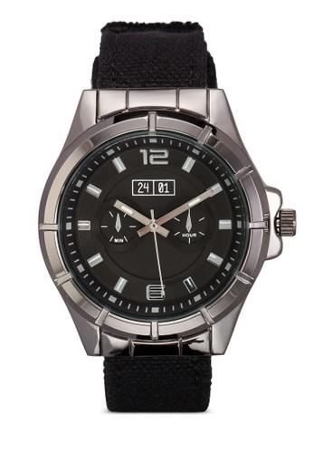 紡織錶帶簡約金屬手錶, esprit 折扣錶類, 飾品配件