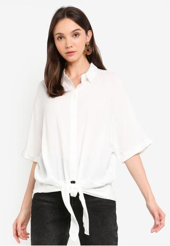 b96b9d03cf Buy Vero Moda Khloe Tie Shirt Online   ZALORA Malaysia