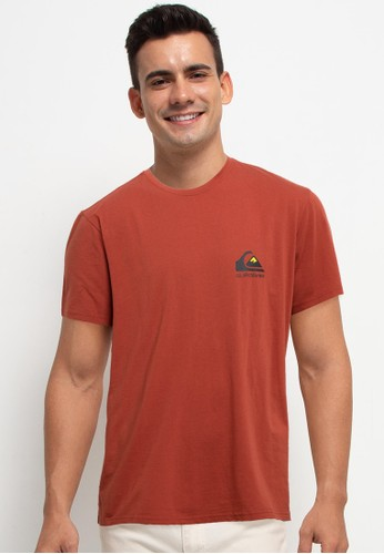 Quiksilver orange Omni Logo Short Sleeve Id 52652AA9ACFFBEGS_1