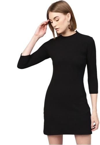 SASSAFRAS black Black Short A-Line Dress F53D1AAD339EA4GS_1