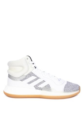 adidas white adidas marquee boost 5CD01SHD486370GS_1