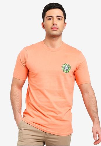 Cotton On 橘色 短袖印花T恤 7EFFFAA2AC012FGS_1