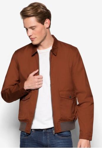 雙esprit招聘口袋哈靈頓外套, 服飾, 輕薄外套