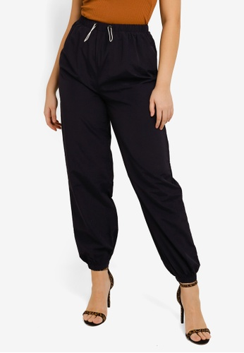 MISSGUIDED navy Toggle Waist Joggers 7EFEAAA906949DGS_1