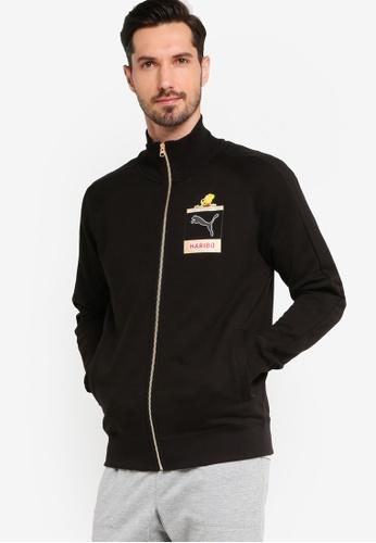 PUMA 黑色 Haribo T7 Track Jacket FDF69AAE9EB16AGS_1