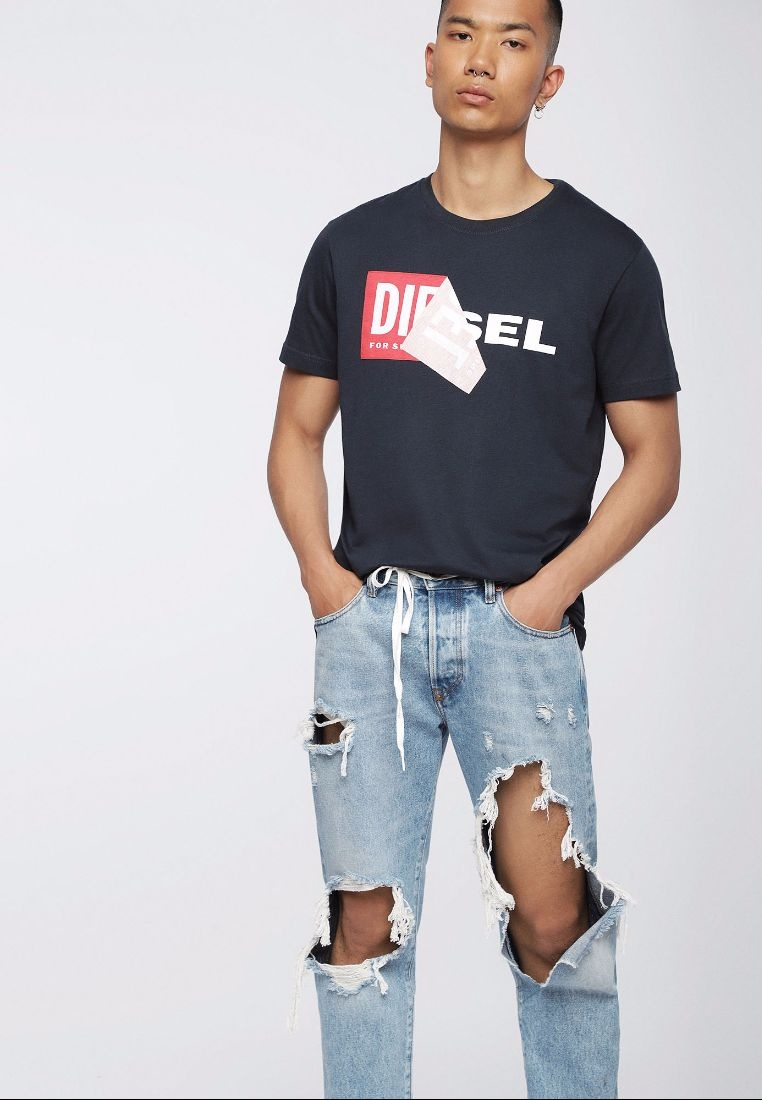Qa Diesel T Tshirt 218 1 Navy Diego pXqRO