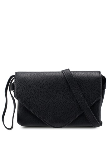 Pieces black Lapis Cross Body Bag 2A30AAC9FE4F6DGS_1
