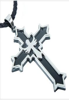 Christian Jewelry Angel cross pendant