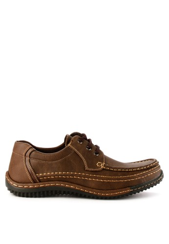 Rocklander brown Rocklander Smart Casual Shoes RO753SH0VG4NID_1