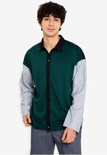 ZALORA BASICS multi Colourblock Polo Shirt 8700AAA0F99C60GS_1