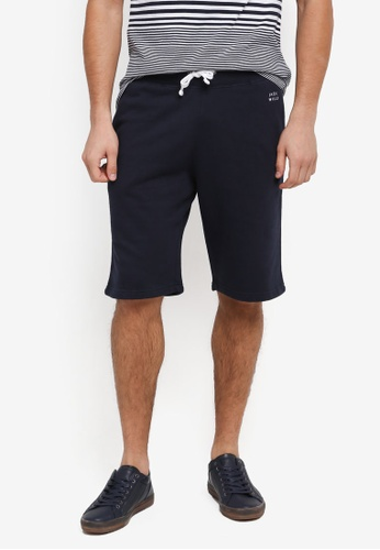 Jack Wills navy Balmore Sweatshort C4AE2AA9790058GS_1