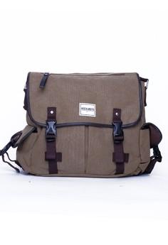 George Khaki Sling Bag