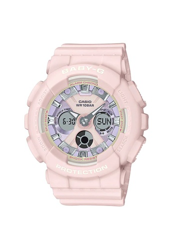 Baby-G pink CASIO BABY-G BA-130WP-4A 3D333AC5C05FABGS_1