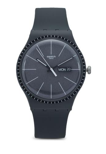Swatch grey Grey Rails Watch 7FE1DACF137D9DGS_1
