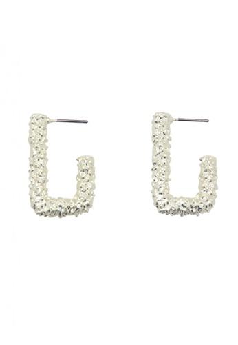 SKEDA silver Adele Textured Drop Earrings 90FECACF569A3FGS_1