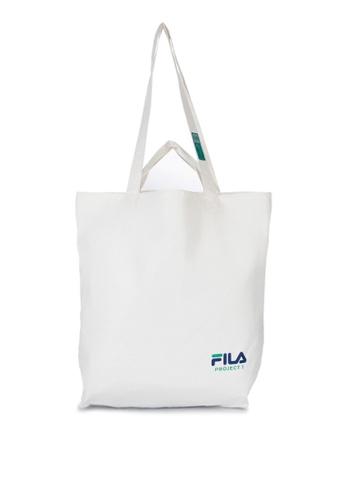 FILA multi Project 7 Pure Eco Bag Tyvek Unisex Eco Bag Owh 91B10AC8DF6DA6GS_1