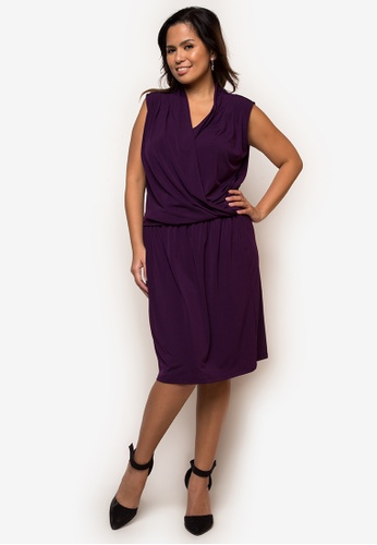 Lulu purple Annie Plus Size Dress LU439AA20BAPPH_1