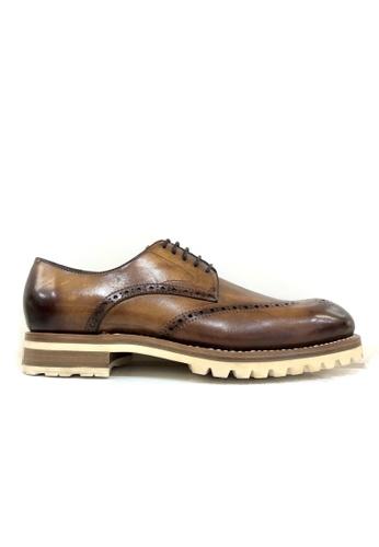 Giorostan 褐色 男仕休閒鞋 34991SH46E9055GS_1