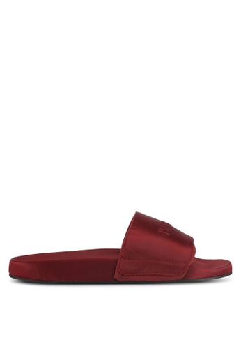 Ivy Park red High Shine Sliders D981ESH66C8787GS_1