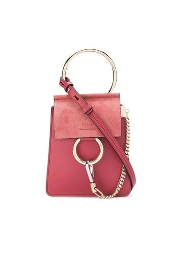 Chloé pink Chloe Faye Small Bracelet Crossbody Bag in Pink 861FBAC22C9BA6GS_1