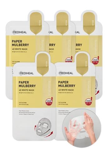 Mediheal white Mediheal Paper Mulberry 4D White Mask (x5 sheets) 88C61BE8E09912GS_1