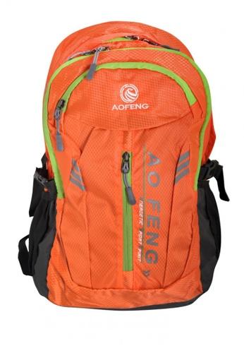 Stylebox orange Aofeng SX28004 Sport /Casual Backpack 12451ACD8F9BADGS_1