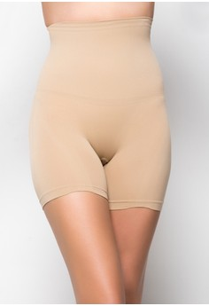 Seamless Short with Tummy Control with Silicone
