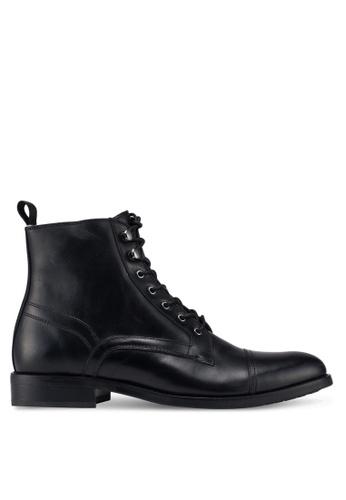 ALDO black Giawet Derby Boots A728ESH67B6681GS_1