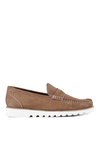 Ftale Footwear brown Ftale - Malvin Nubuck Camel 7B475SHFC08862GS_1