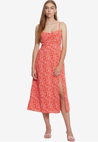 Savel red Venezia Dress B175AAA97D62ACGS_1