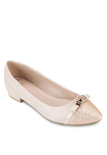 蝴蝶結尖頭平底鞋, esprit part time女鞋, 鞋
