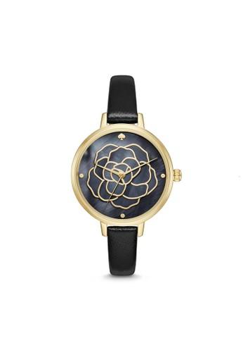 Kate Spade navy Kate Spade Fashion Metro - Navy Dial 34 mm -  Leather - Analog - Jam Tangan Analog Wanita - KSW1182 6DD5AAC77D7AB3GS_1