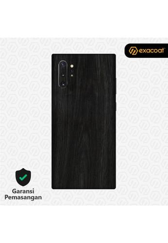 Exacoat Galaxy Note 10 / Note 10+ 3M Skins Wood Series - Wood Ebony 1DE44ES476584AGS_1