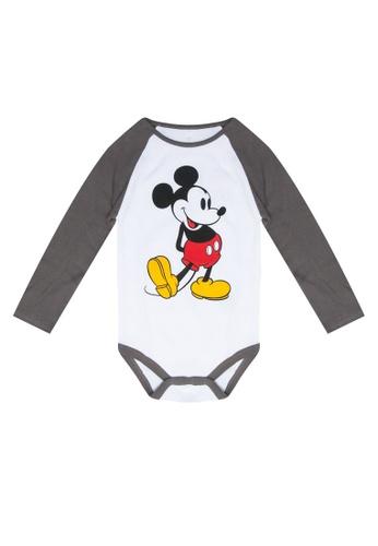 FOX Kids & Baby white Graphic Bodysuit A381AKA3D37802GS_1