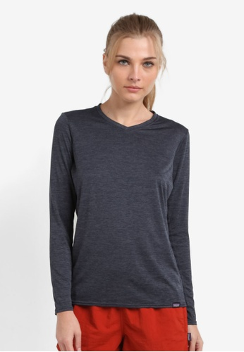 Patagonia navy Cap Daily Long Sleeve T-Shirt PA549AA0RQDIMY_1