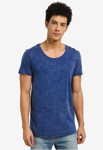 Jack & Jones blue Casual T-Shirt 98A8FAA331C187GS_1