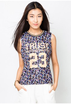 Trust 23 Muscle Blouse
