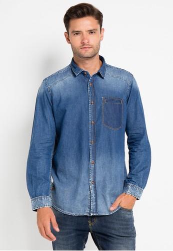 Lois Jeans blue Long Sleeve Denim Shirt LO391AA0VPCRID_1