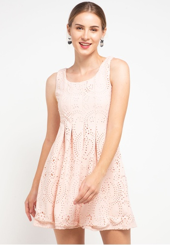 CHANIRA LA PAREZZA pink Chanira La Parezza Luz Dress 5E6A8AA5A8DEF4GS_1