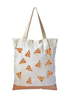 Tote Bag Pizza Emoji