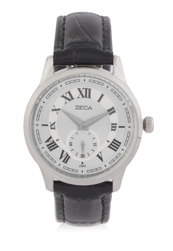 ZECA silver Zeca Watches Couple Ladies Fashion - 302L Black Silver 0E810AC8F401AEGS_1