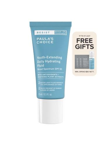 Paula's Choice blue Resist Youth-Extending Daily Hydrating Fluid SPF 50 93D45BEACB8EC2GS_1