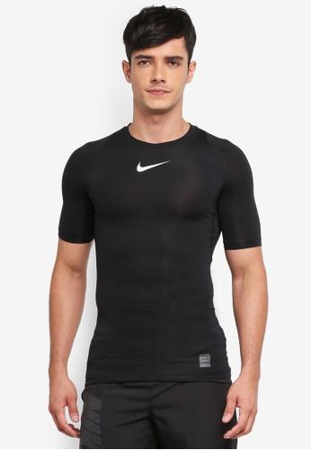 02e7d3a0f906 Nike black Men s Nike Pro Training T-Shirt 155BBAAD4991F5GS 1