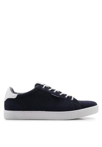 42b3a3e780249 Buy Jack & Jones JFWTRENT Synthetic Suede Sneakers | ZALORA HK