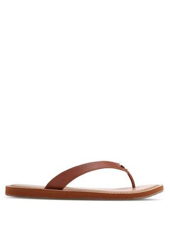 c3b2d96862d ALDO brown Lascala Sandals DC1B7SH25A00BFGS 1