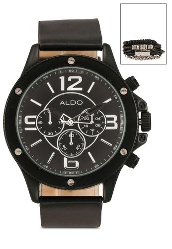 ALDO black Qynna Watch 9E841ACDE1340FGS_1