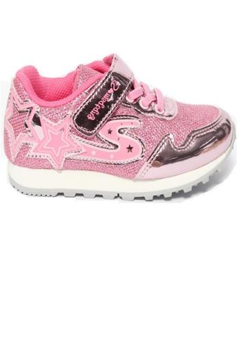 Crystal Korea Fashion pink New Korean Style Comfortable Sports Shoes D6121KSA16A214GS_1