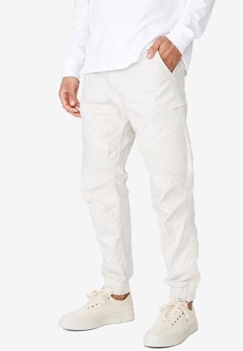 Cotton On 白色 慢跑褲 CB8D3AA5F11086GS_1