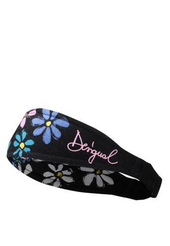 Desigual black Salacca Headband 35055KC229FCEBGS_1